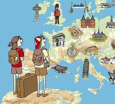 Evropské putování